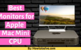 Best Monitor for Apple Mac Mini CPU