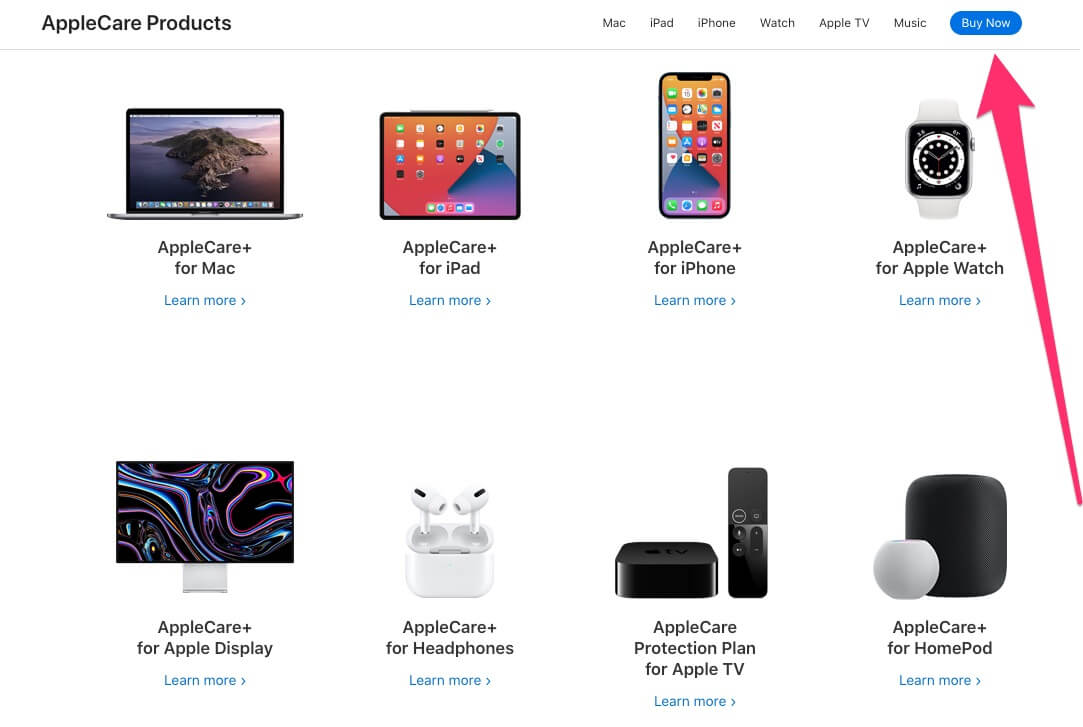 Buy Apple Care Plus Plan for Each Apple Device