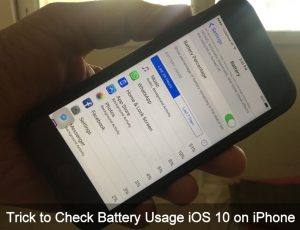 How to Check battery Usage iOS 12 on iPhone: Find Battery Killer Apps