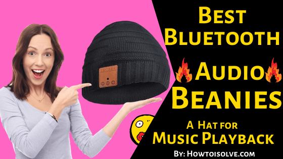 Best Bluetooth Audio Beanies for iPhone, iPod Touch