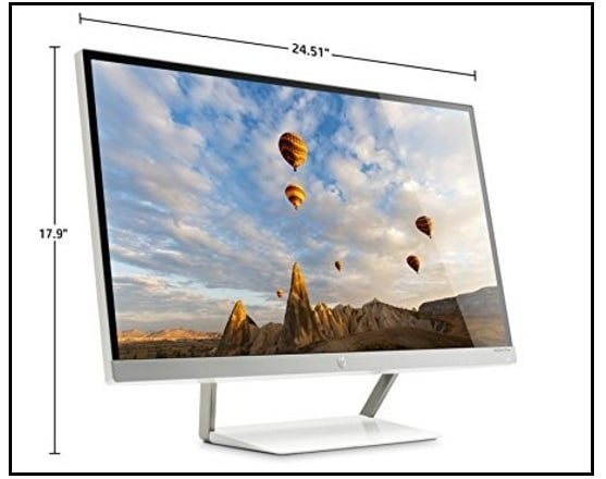 HP Pavilion the Best LED backlight Monitor for Mac Mini