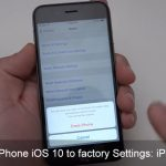 How to Reset iPhone iOS 11 to factory Settings: iPhone 7 Plus/ iPhone 8 (Plus)/ iPhone X