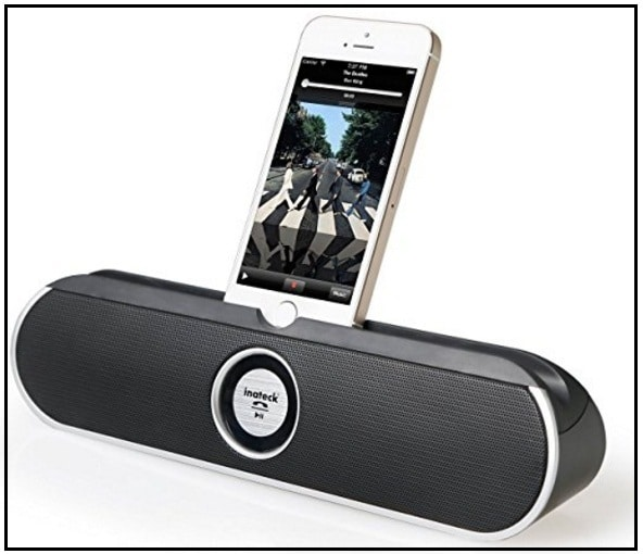 Inteck bluetooth speaker dock for iPhone 7 Plus