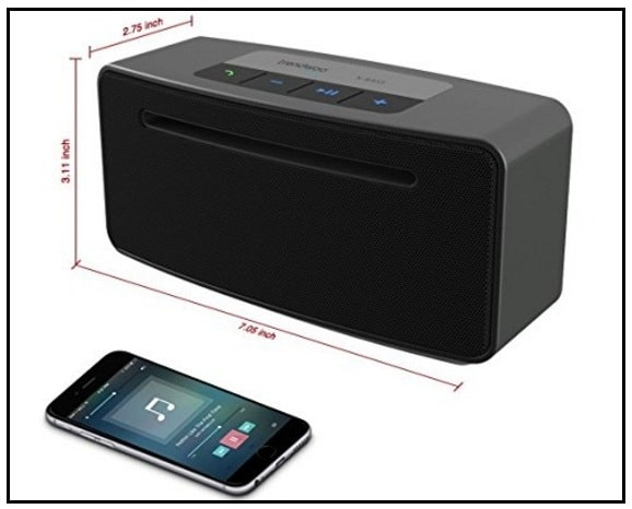 super bass Wireless speaker for Apple iPhone 7 + iOS 10