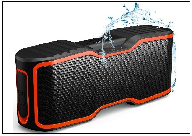 Waterproof bluetooth speaker for iPhone 7 Plus and iPhone SE 2017