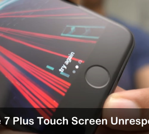 Guide to fix Touch Screen Unresponsive iOS 10