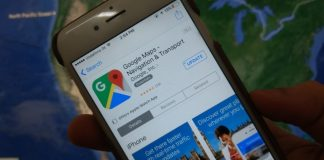 Google Map update or Not working on iPhone or iPad
