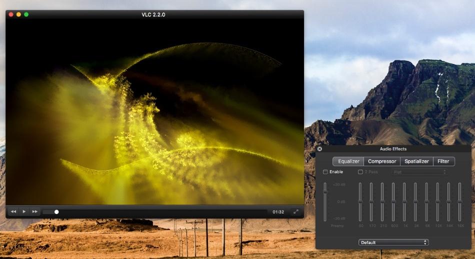 VLC media player for Mac play MKV file