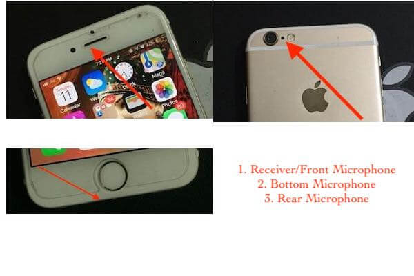 iPhone 6 Microphone locations (1)