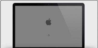mac screen stuck on white screen