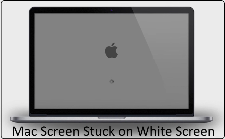 mac screen stuck on white screen