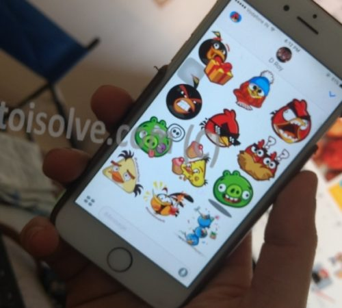 make Sticker app for iMessage iPhone