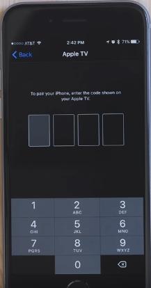Verify Remote Apple TV on Apple TV remote apps