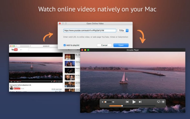 eltima video player play MKV file on Mac