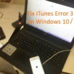 iTunes error 3194 on Windows 10 PC, Laptop