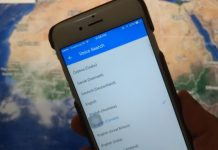 Google Map voice search on iPhone or iPad