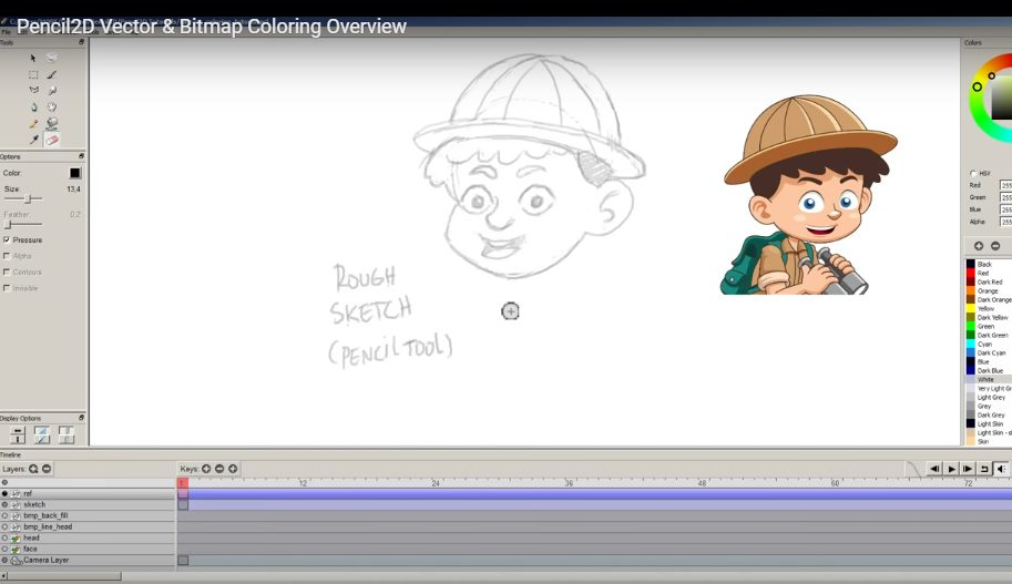 Free Cartoon Drawing Software For Mac: open source graphics software