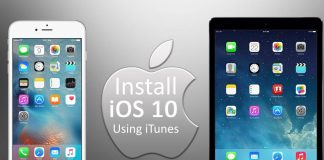 Install iOS 10 on iPhone using iTunes or OTA
