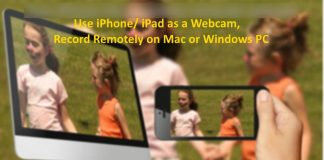 Use iPhone and iPad as a Webcam