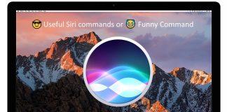 Very useful siri commands for MacOS Sierra