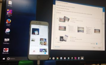 Import picture from iPhone to windows PC in free