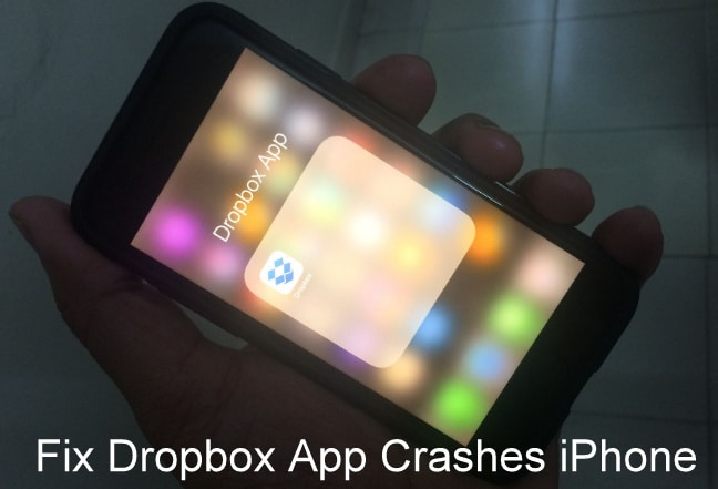 Fix Dropbox App crashes iPhone after Update