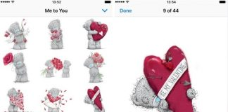 Me To you valentine's Day 2017 for iPhone iPod touch