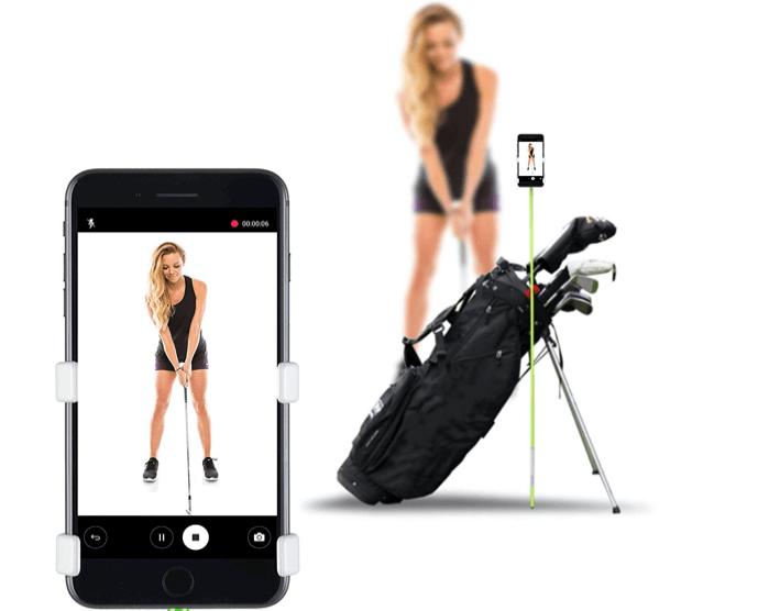 SelfieGOLF Record Golf Swing Holder
