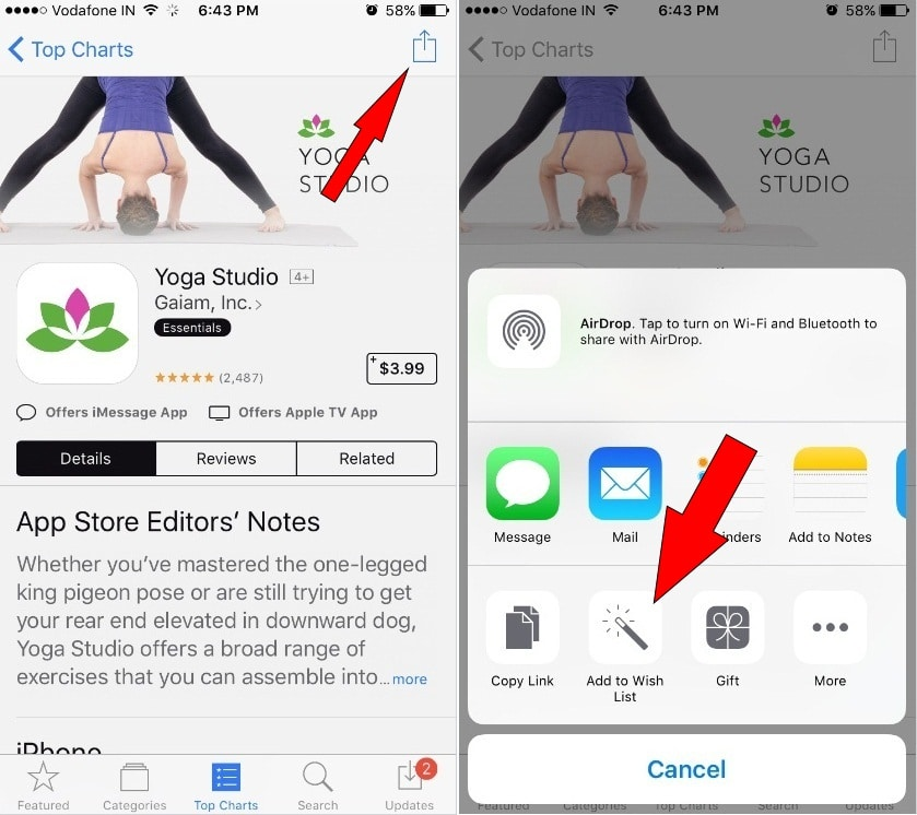 Bookmark Apps on App Store for later: iPhone, iPad [Paid Apps]