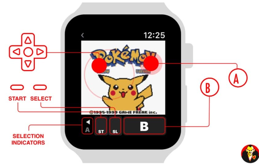 1 Apple Watch Game boy Emulator