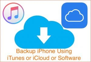 Backup iPhone: Using iTunes, iCloud & Other Alternate options