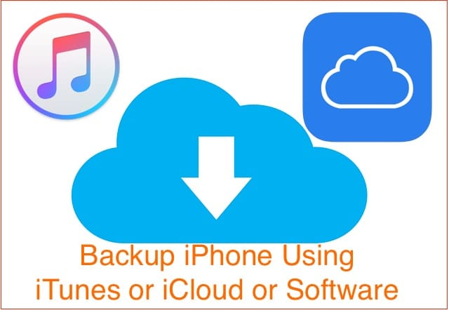 4 Backup iPhone to iCloud and iTunes on Mac