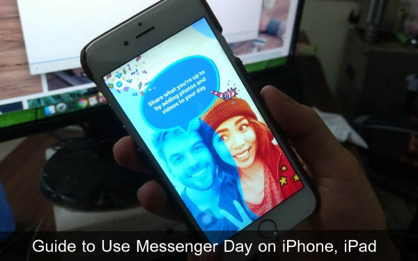 Guide to Use Messenger Day on iPhone iPad 1