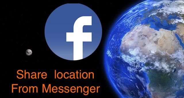 Share Location from Facebook Messenger on iPhone and iPad