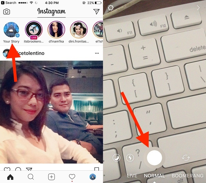 1 CREATE INSTA STORY ON IPHONE