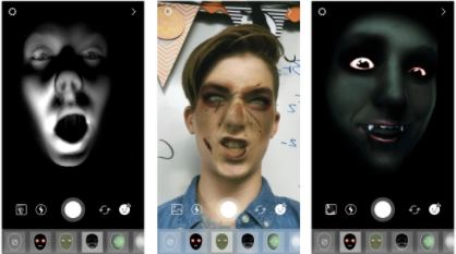 2 New Halloween Creative tools in instagram iPhone