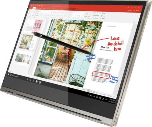 Ноутбук Lenovo Yoga C930 2-в-1 13,9 4K UHD с сенсорным экраном 2019