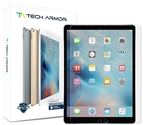3 TechArmore iPad pro 9.7 screen protector