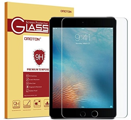4 Omoton iPad pro screen protector