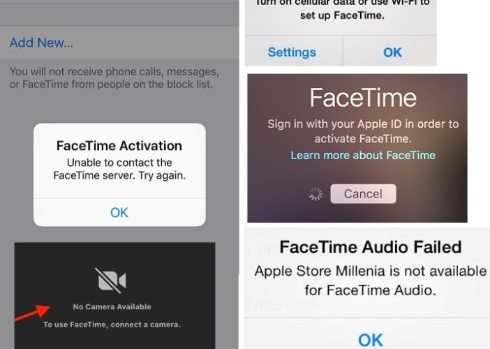 5 Most common FaceTime Problems on iPhone and Mac
