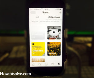 Create, Edit, Delete, Use Instagram Collections on iPhone