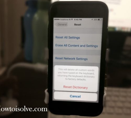 How to Clear keyboard History on iPhone