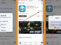 1 1 Signout apple ID and sign in with new US ID On App store