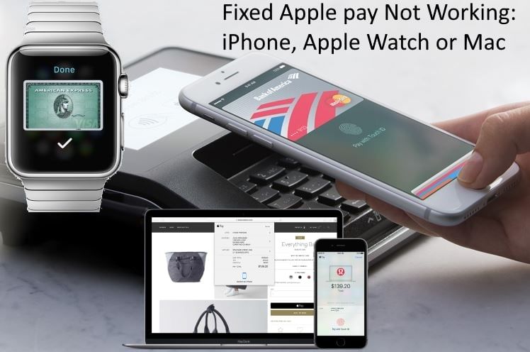 1 Apple pay not working on Apple watch Mac iPhone