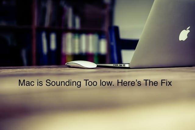 1 Customize Macbook pro Sound low level