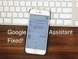 Here's Fixes: Google Assistant Not Working on iPhone, iPad: iOS