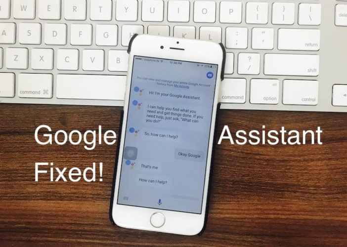 1 Google Assistant not working on iPhone and iPad