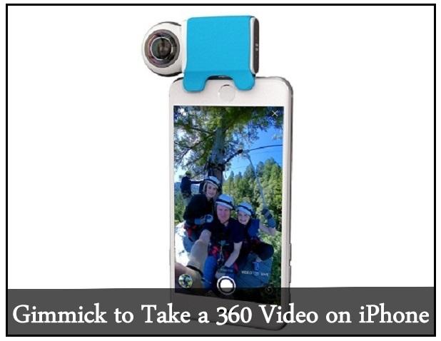Уловка для съемки панорамного видео на iPhone 7 Plus