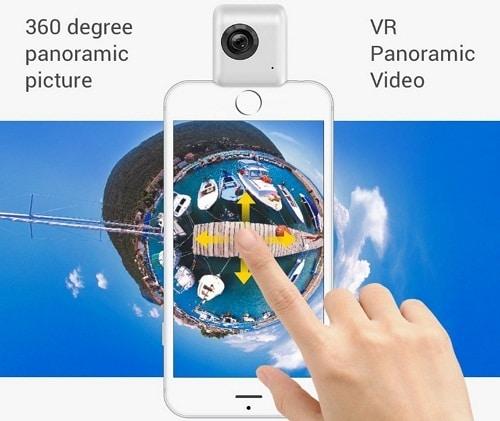 Insta 360Nano take 360 Video on iPhone