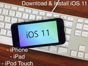 Download or install iOS 11, iOS 11.2.1 in iPhone 5,5S, iPhone 6/6 or More